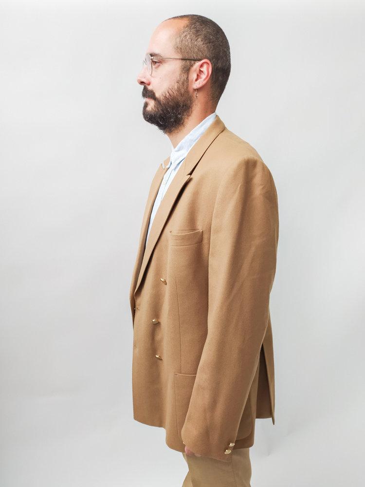 Frans molenaar Woolen jacket - camel