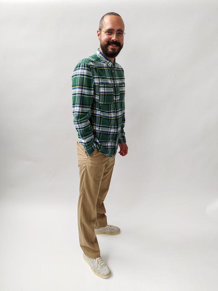 Montego Nette pantalon - zandkleur (W48)