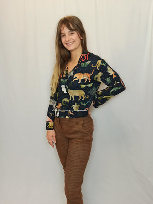Zara Casual trousers - camel