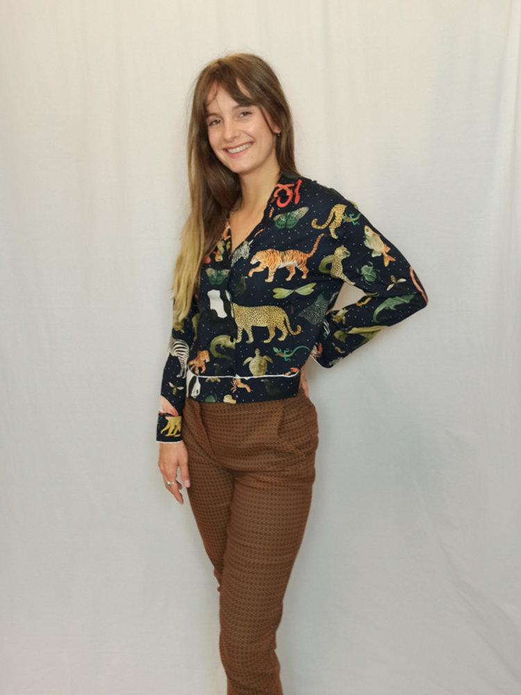Zara Casual pantalon - camel