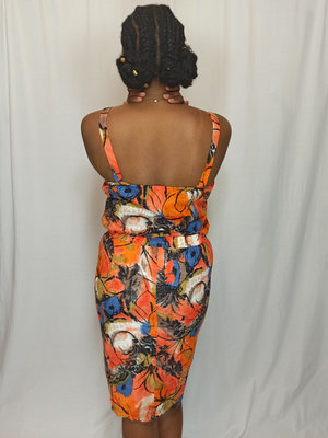 Vintage Rok pak - oranje