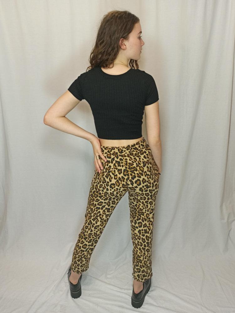 H&M Panter pantalon - bruin