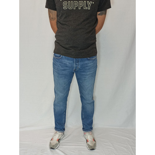 Mango Denim jeans - blue slim fit (46)