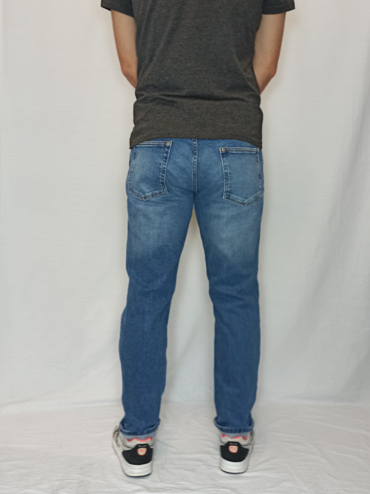 Mango Denim jeans - blauw slim fit (46)