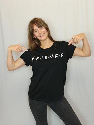 H&M Friends T-shirt - zwart