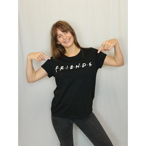 H&M Friends t-shirt - black