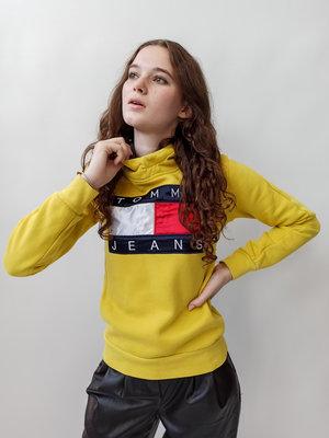 Gele Tommy Jeans hoody
