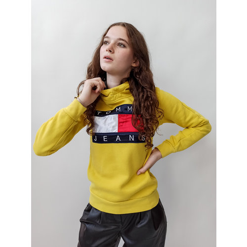 Yellow Tommy Jeans hoodie