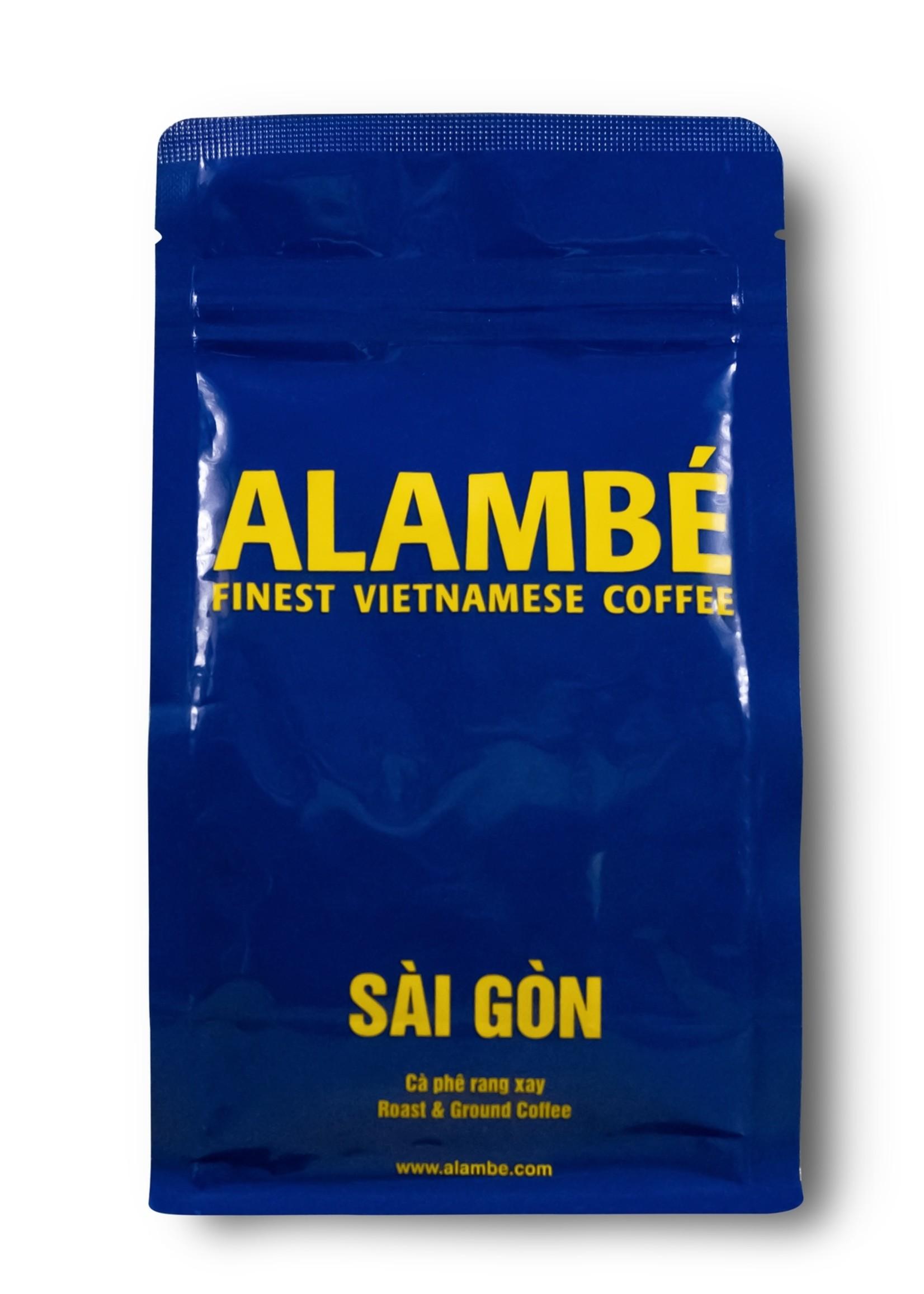 Alambé - Finest Vietnamese Coffee Sai Gon - Mélange de maisons à la vietnamienne (230g café en grains)