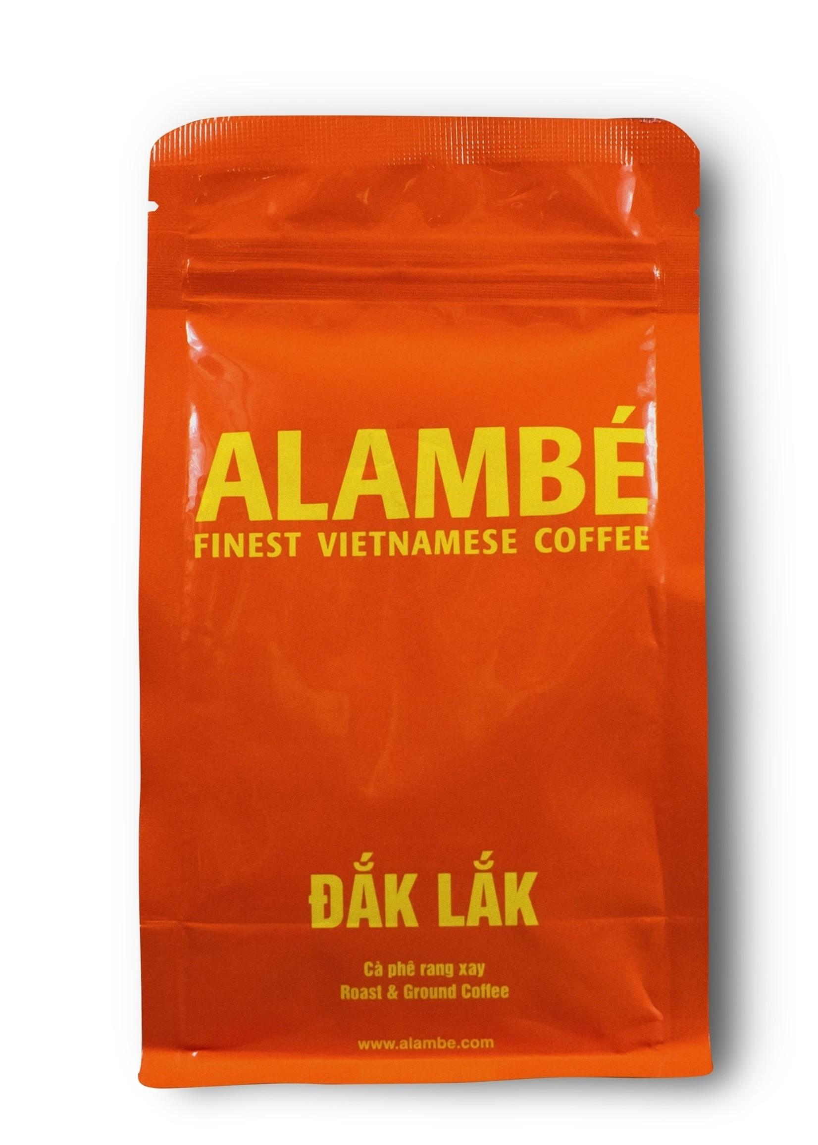 Alambé - Finest Vietnamese Coffee Dak Lak – 100% Robusta im traditionellen vietnamesischen Stil (230g gemahlen)