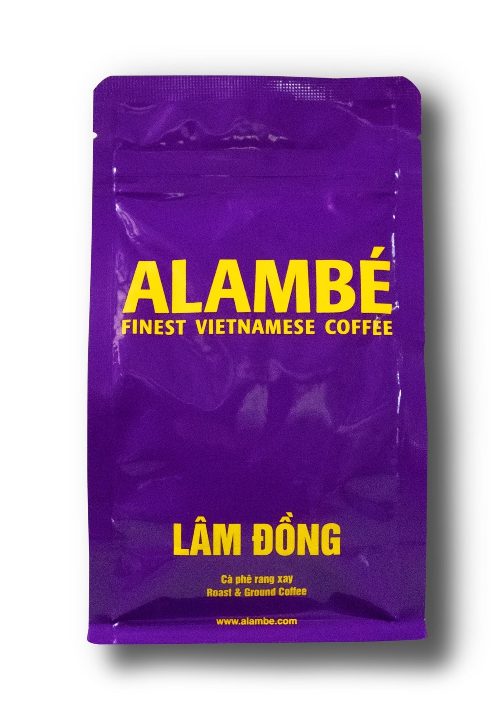 Alambé - Finest Vietnamese Coffee Lam Dong - Italian style house blend (230g ground)