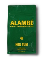 "Alambé - Finest Vietnamese Coffee Kon Tum - 100% Robusta ""honey-processed"" du Vietnam (230g moulu)"
