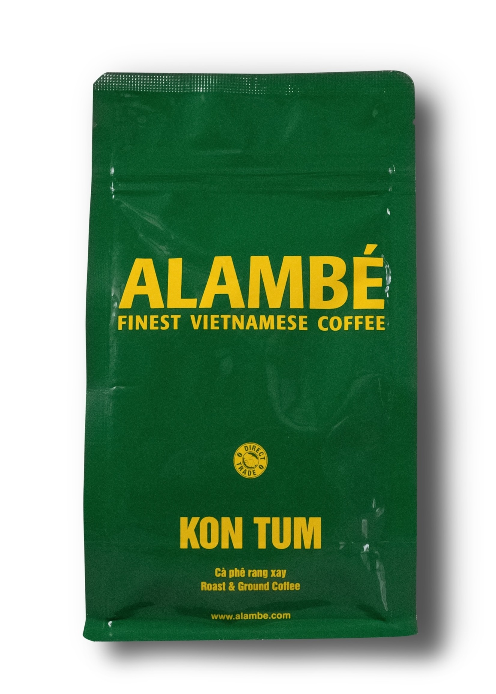 Alambé - Finest Vietnamese Coffee Kon Tum - 100% «honey-processed» Robusta aus Vietnam (230g gemahlen)