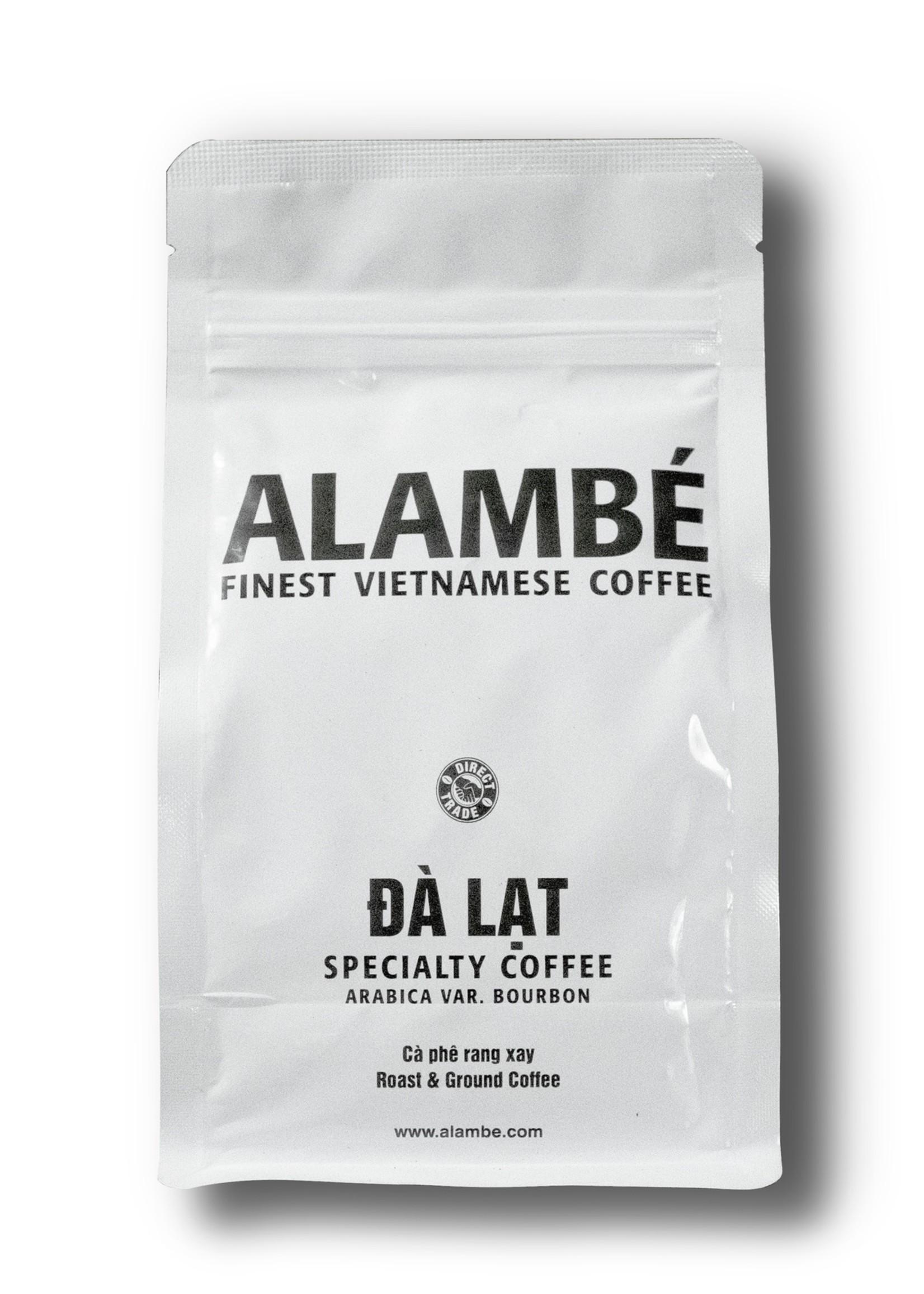 Alambé - Finest Vietnamese Coffee Da Lat – 100% Arabica Bourbon specialty coffee from Vietnam (230g ground)