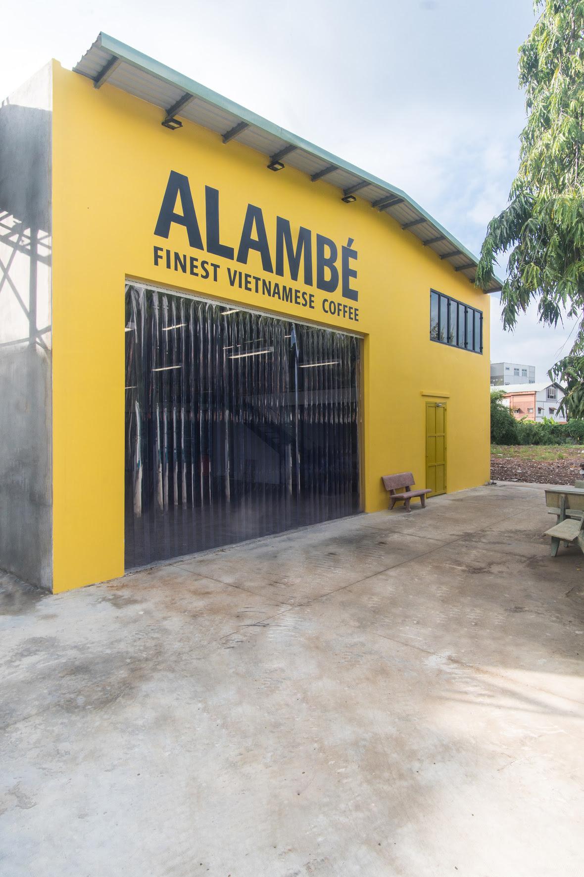 Die Rösterei von Alambé in Vietnam