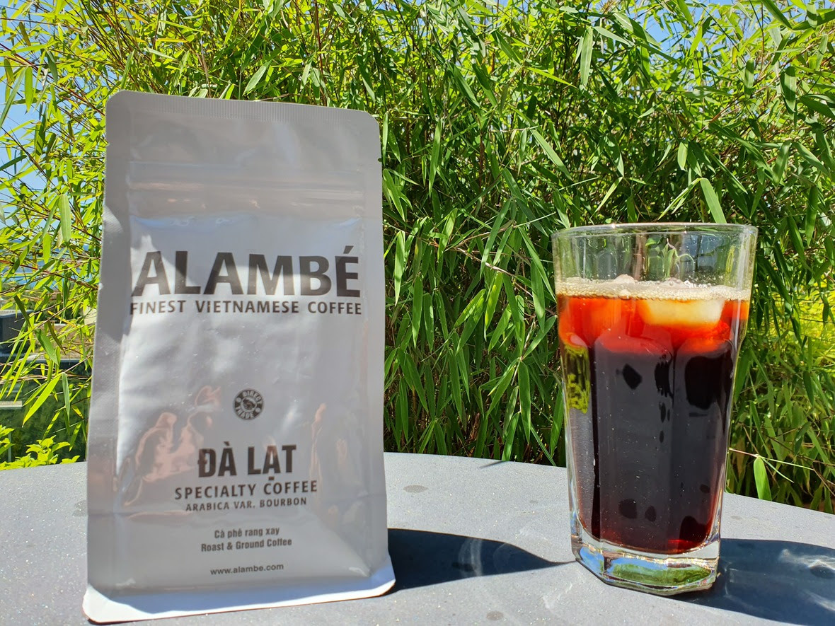 Alambé Da Lat iced Vietnamese coffee