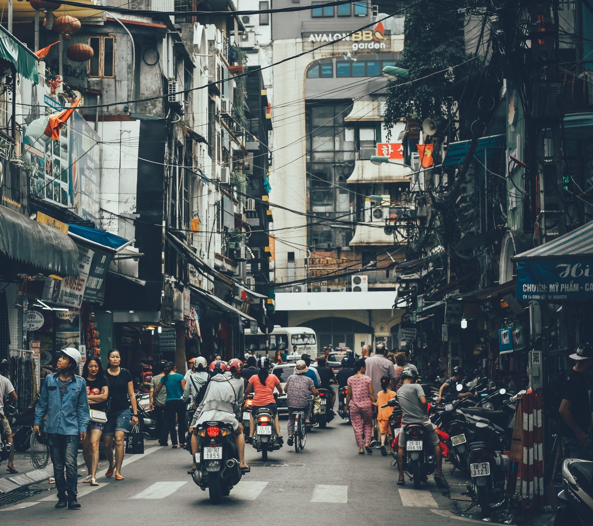 Saigon City Street
