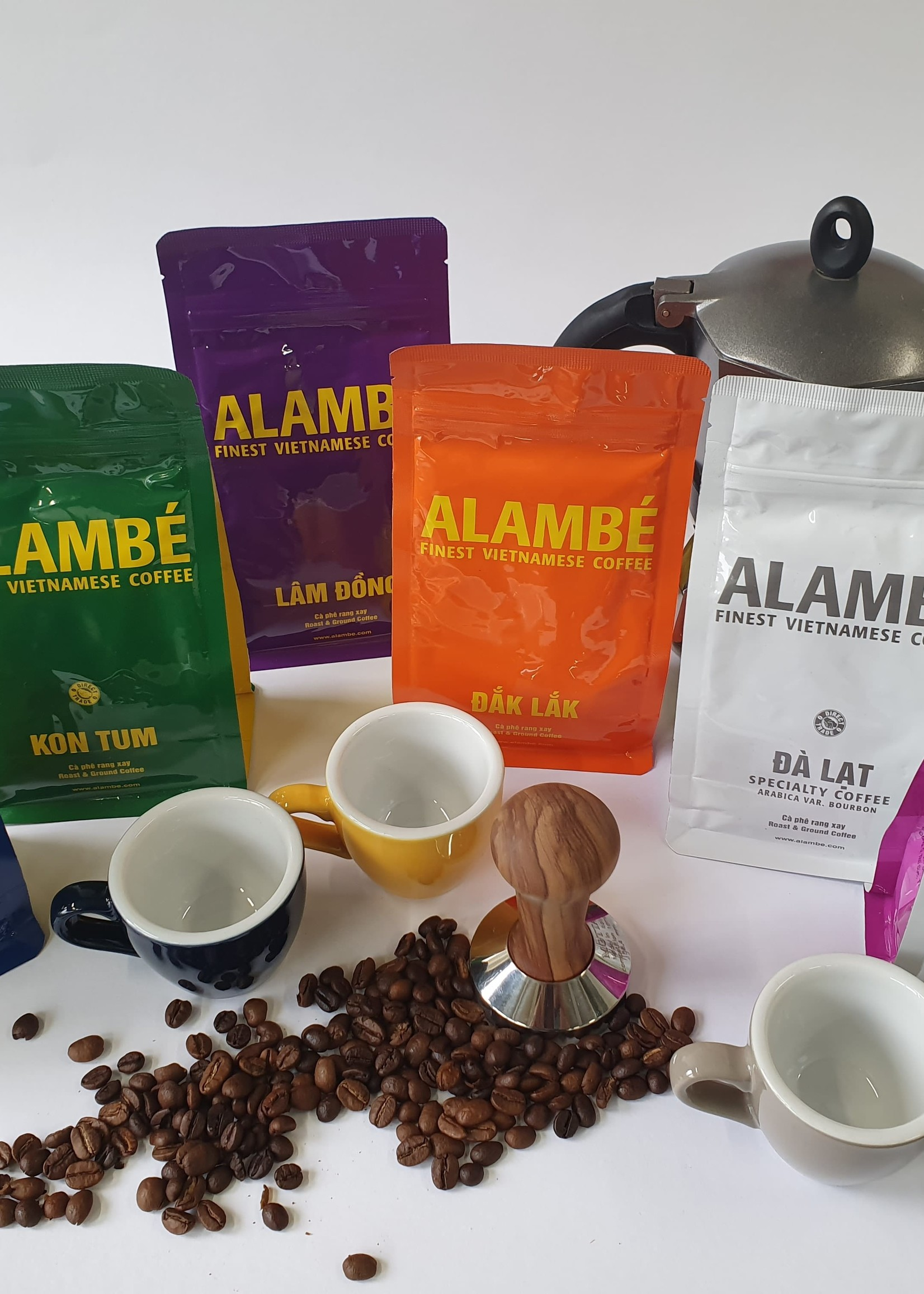 Alambé - Finest Vietnamese Coffee The Alambé Coffee Discovery Pack (ground)