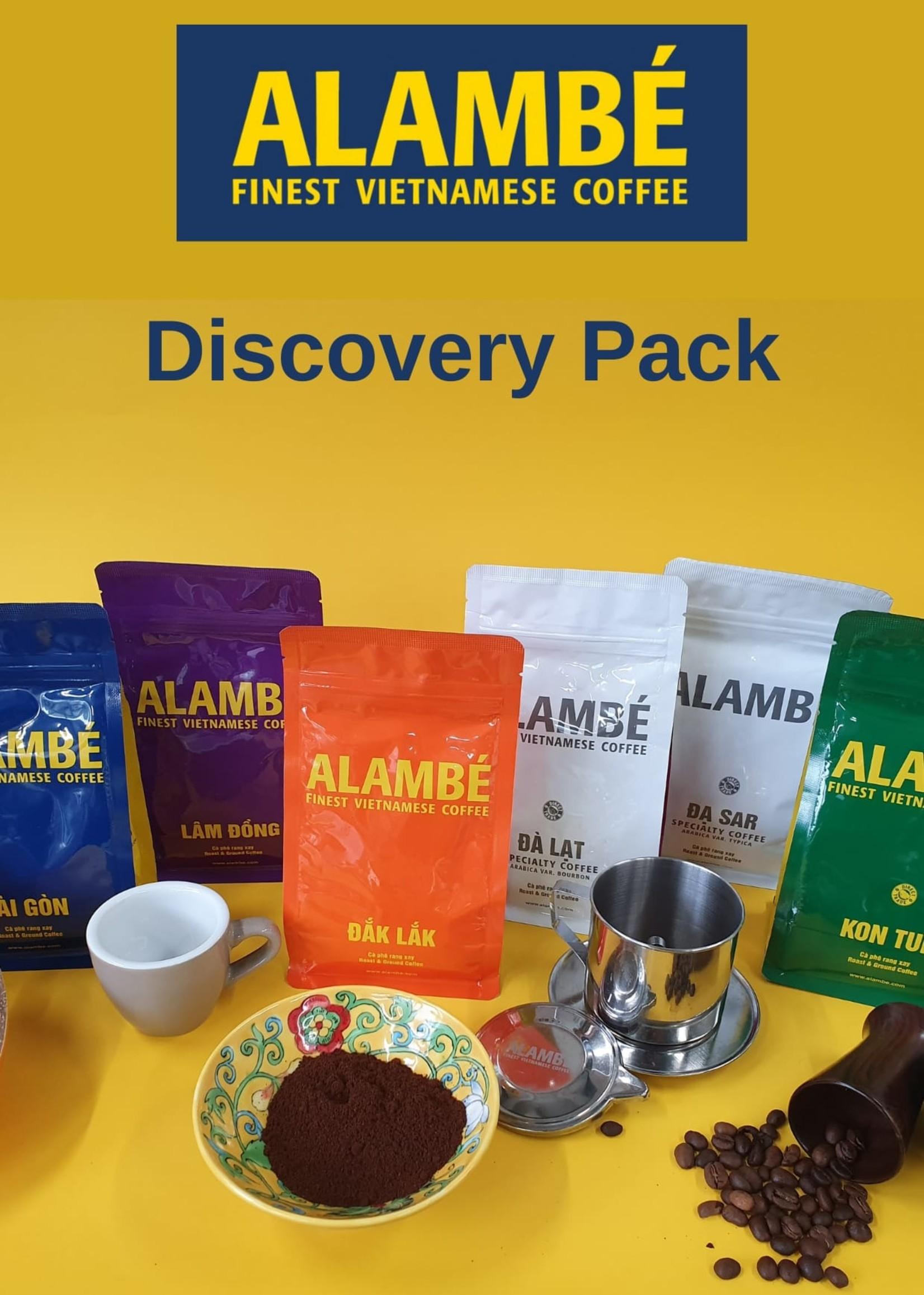 Alambé - Finest Vietnamese Coffee Das Alambé Kaffee Entdeckungspaket (gemahlen)