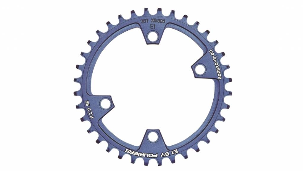 CR-E1-DX8000 Narrow Wide chainrings for XT M8000 11 speed