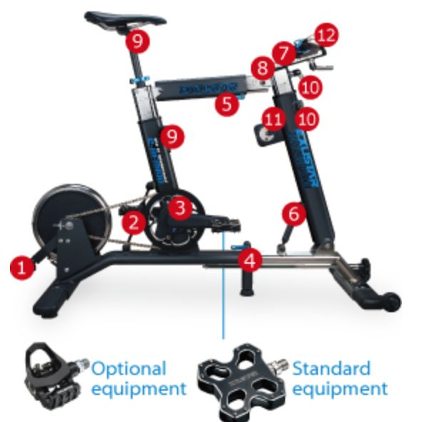 E-BFM100 Bike Fit Machine