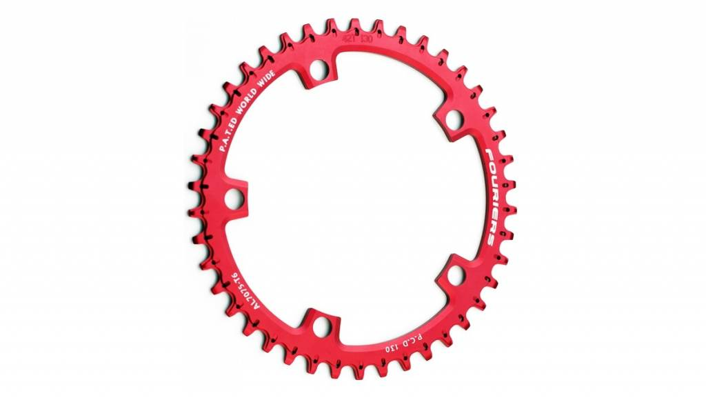 CR-DX006 Narrow-wide chainring 130 BCD