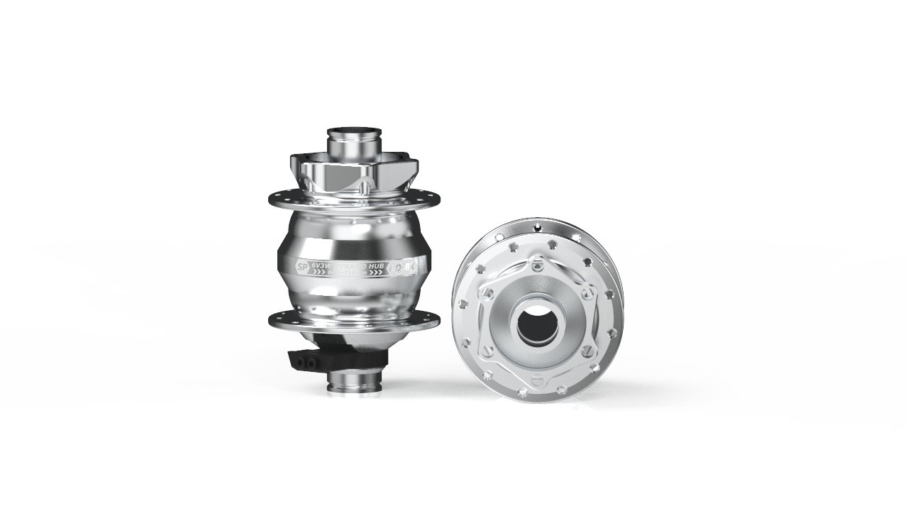 PD-8X Dynamo Hub 100x15mm Thru-Axle