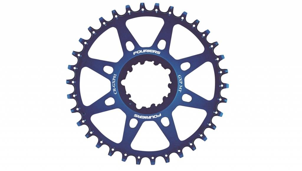 One piece full CNC machined GXP chainring