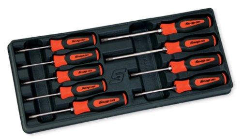 9 delige Torx® Instinct® Orange Schroevendraaier Set