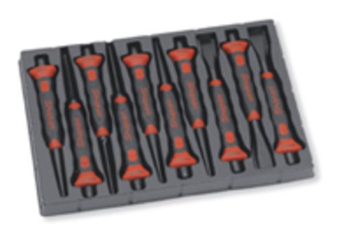 10 delige Soft Grip Punch and Chisel Set