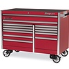 "Roll Cab, EPIQ, Double Bank, 13 Drawers, 60"" Wide, Red"