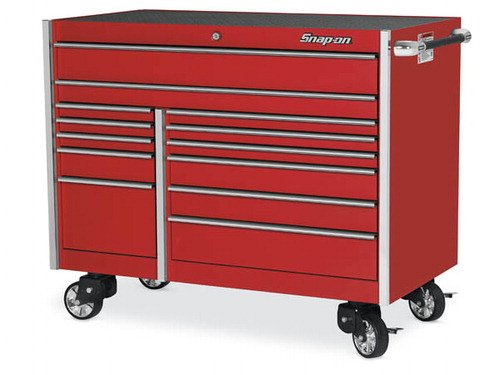 Roll Cab, Double Bank, 13 Drawers, Red