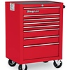 Roll Cab, 8 Drawers, Red