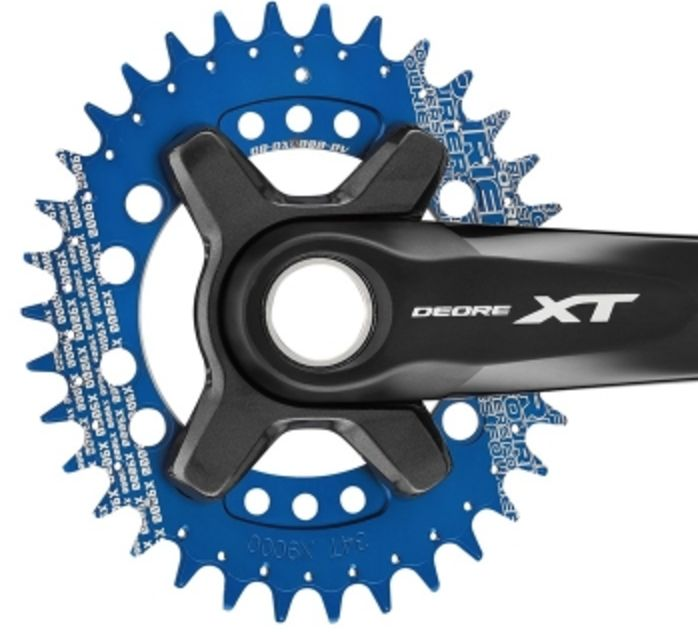 CR-DX8000 OVAL Narrow wide chainring for Shmano XT M8000