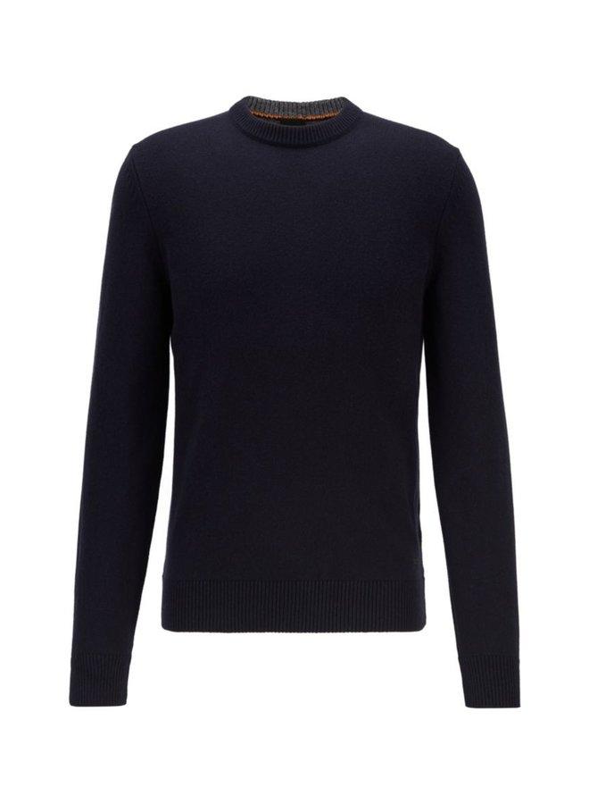 Kontreal knit dark blue