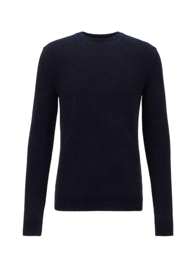 Amois knit dark blue