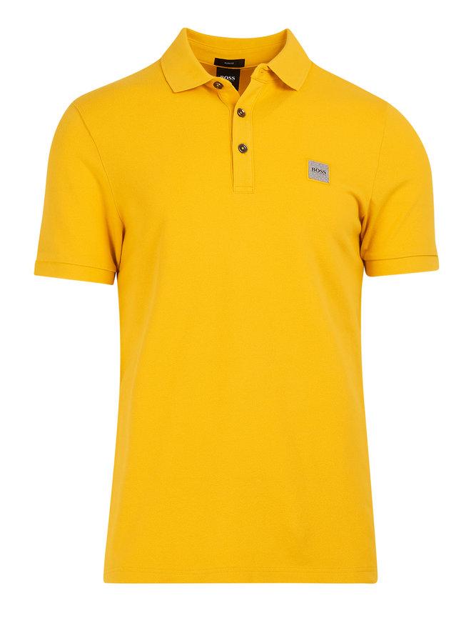 Passenger polo slim fit medium yellow