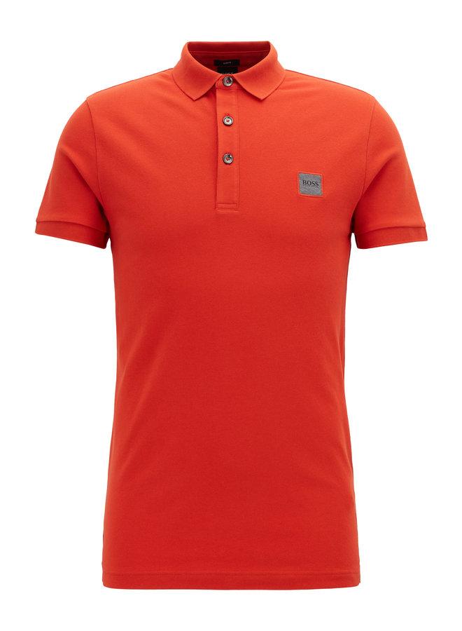 Passenger polo dark orange