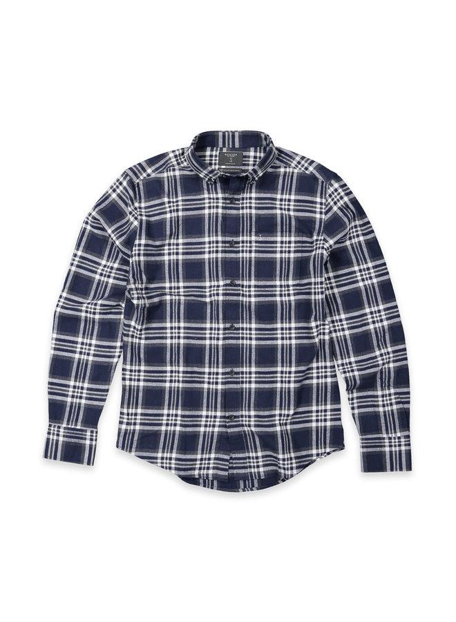Robbins shirt big check alaska blue
