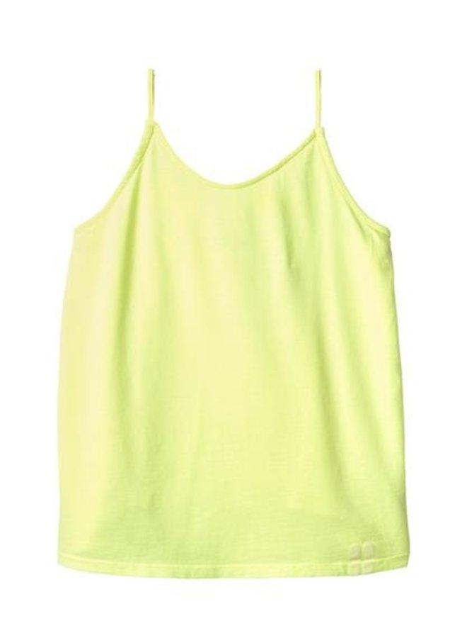 Cami top faded yellow
