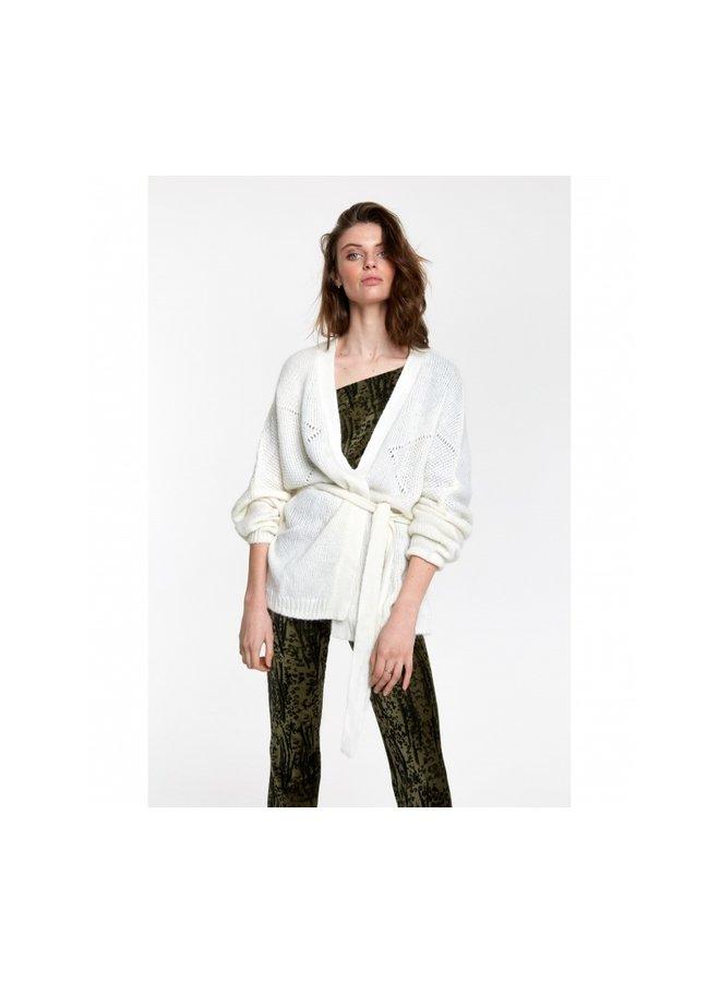 Oversized cardigan soft white - 205768749-012
