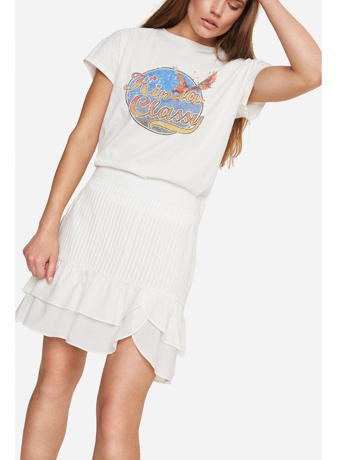 Classy t-shirt s/s soft white - 204892639-012