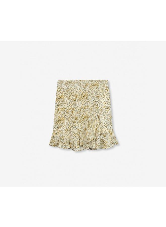 Mini zebra skirt off white - 203284584-002