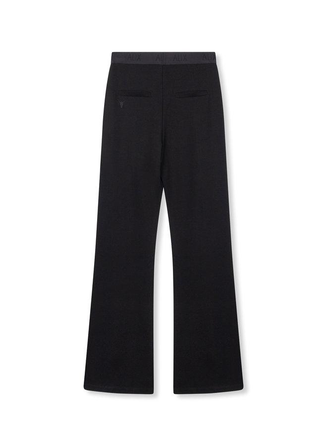 Flared pant black - 201124435-999