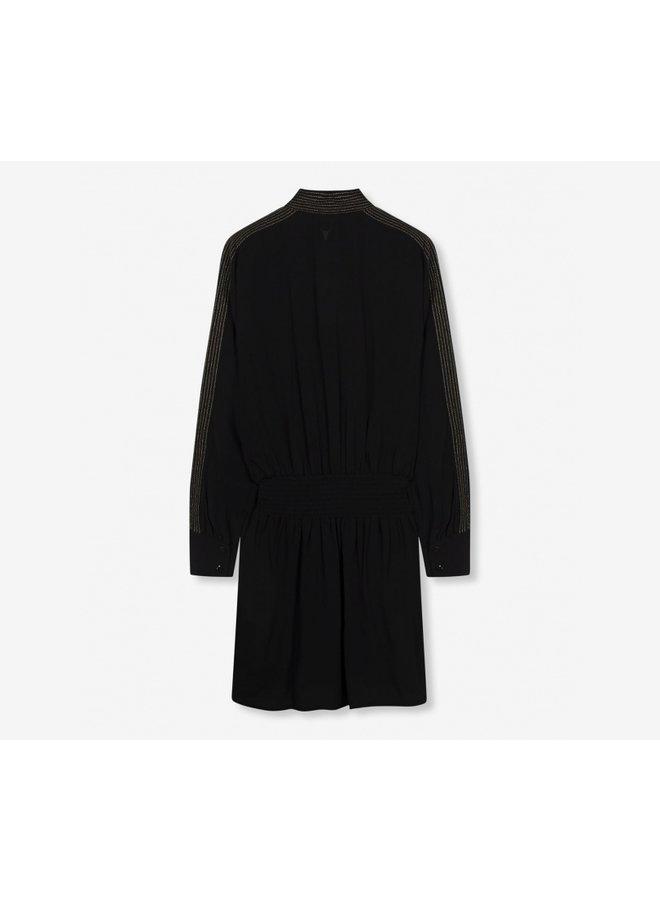 Woven dress black