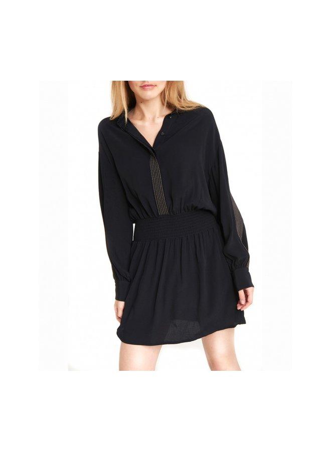 Woven dress black - 197350375-999