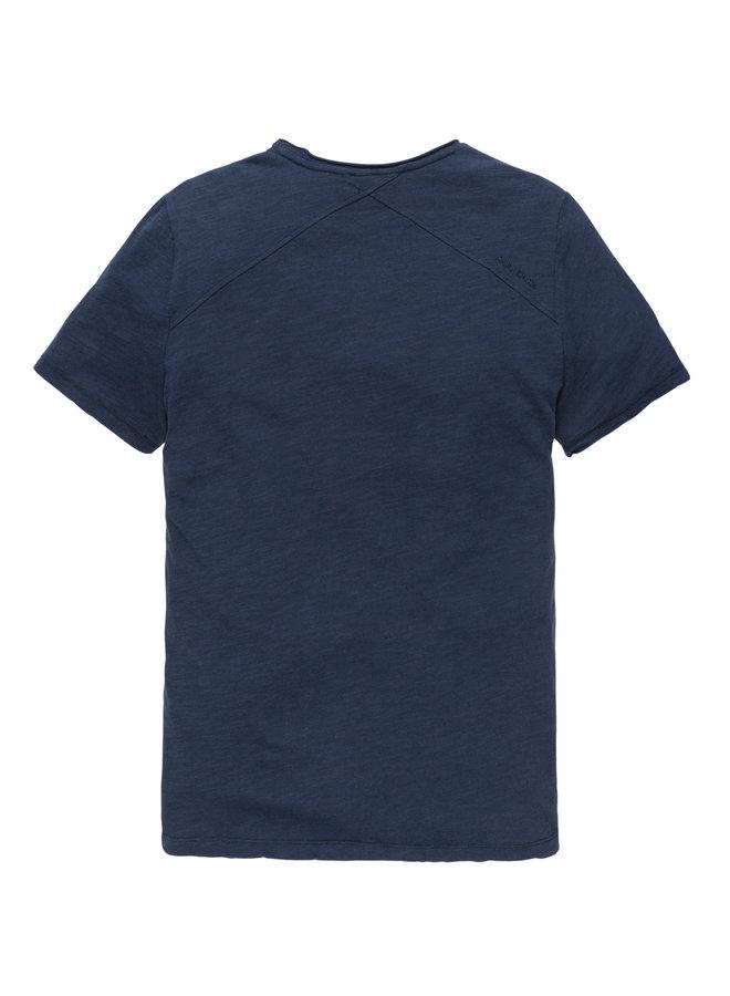 R-neck tee Slub Jersey Dress Blues - CTSS202256-5118