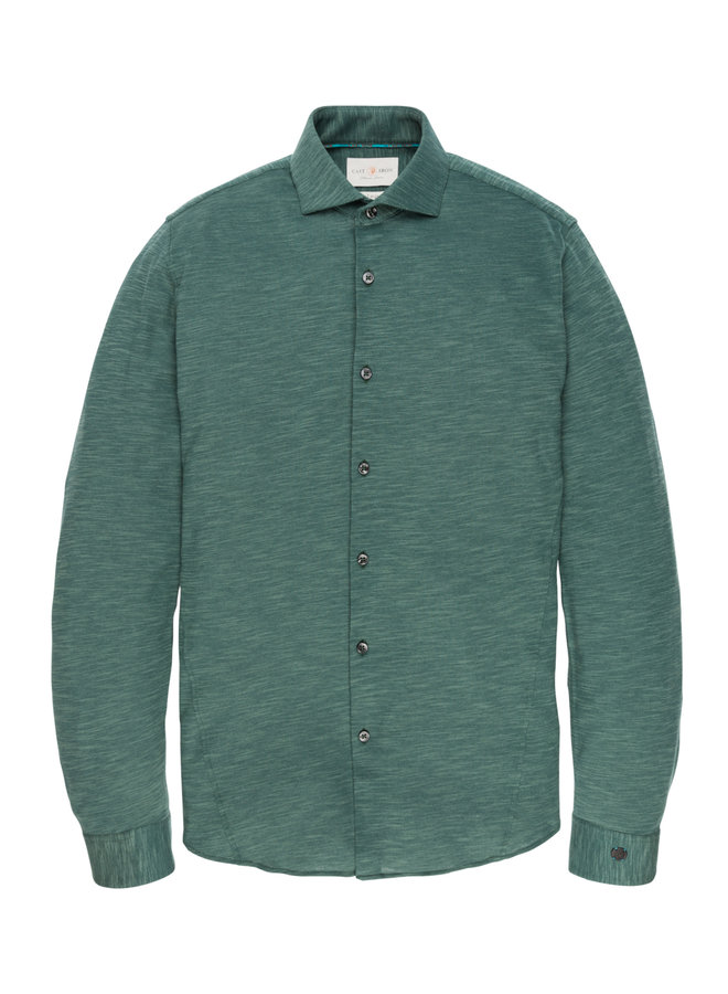 Long Sleeve Shirt JERSEY SLUB PIQU Sea Moss