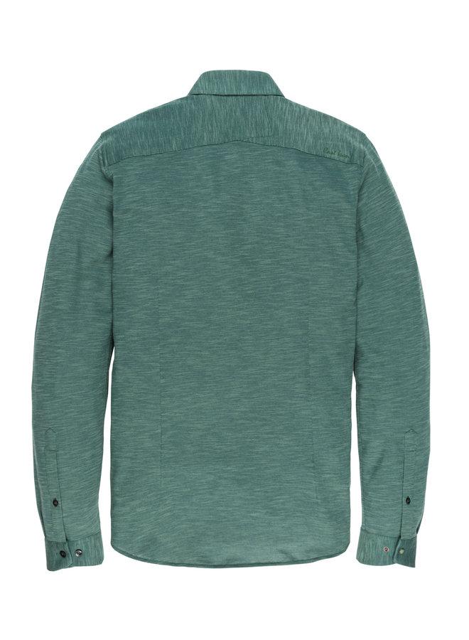 Long Sleeve Shirt JERSEY SLUB PIQU Sea Moss - CSI196616-6431