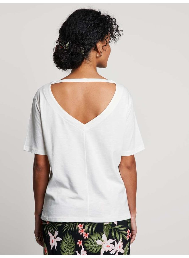 T-shirt tropics off white - 2002020211-201